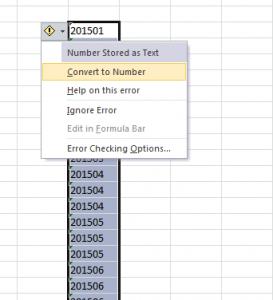 Control errores Excel