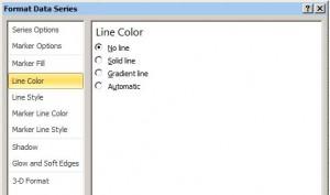 Color de Linea